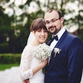 Wspomnienie z reportażu ślubnego Asi i Adama. <small>Fotograf ślubny Częstochowa.</small>