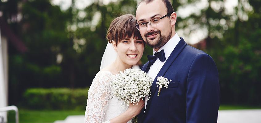 Wspomnienie z reportażu ślubnego Asi i Adama. Fotograf ślubny Częstochowa.