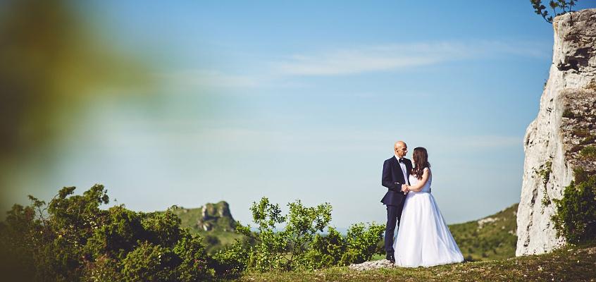 Plenerowa sesja ślubna – fotograf Częstochowa